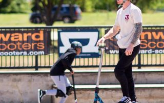Clayton Lindley XSM Global Xtreme Sports Management Action Agency Scooter Scoot Scootering